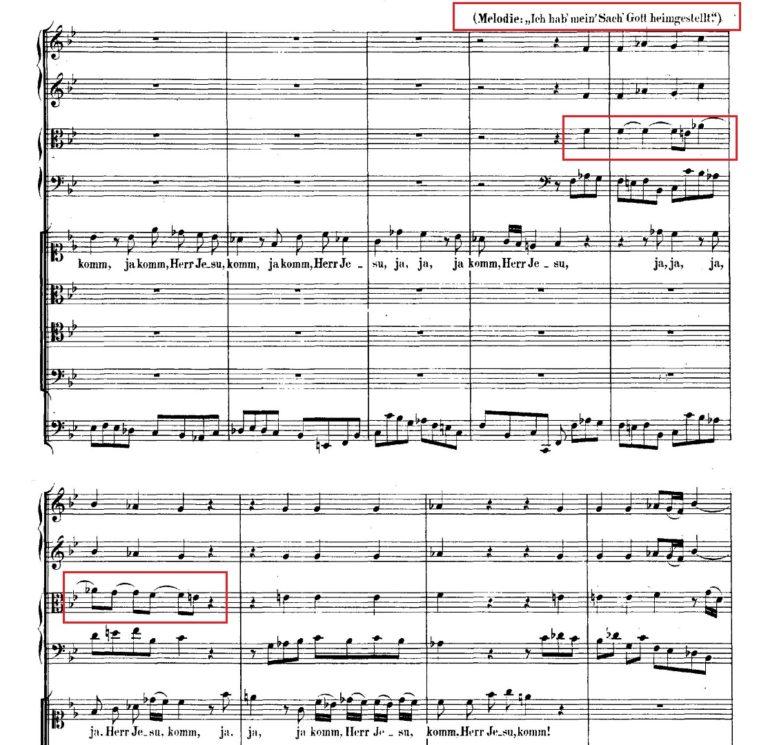 BWV 106. №2d. Coro (3)