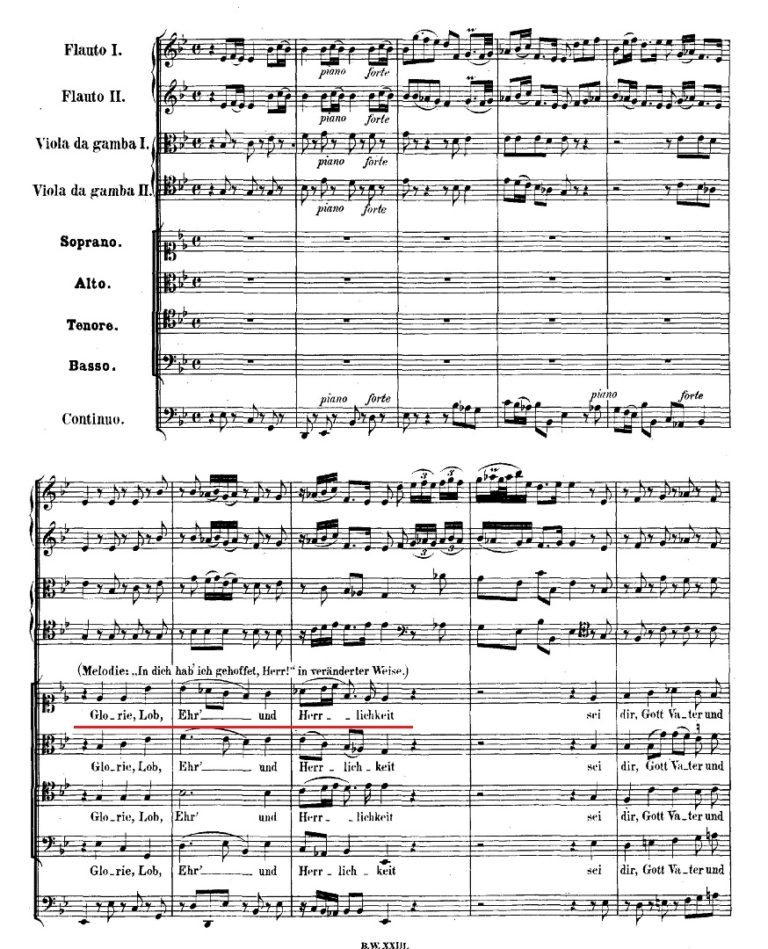 BWV 106. №4. Coro