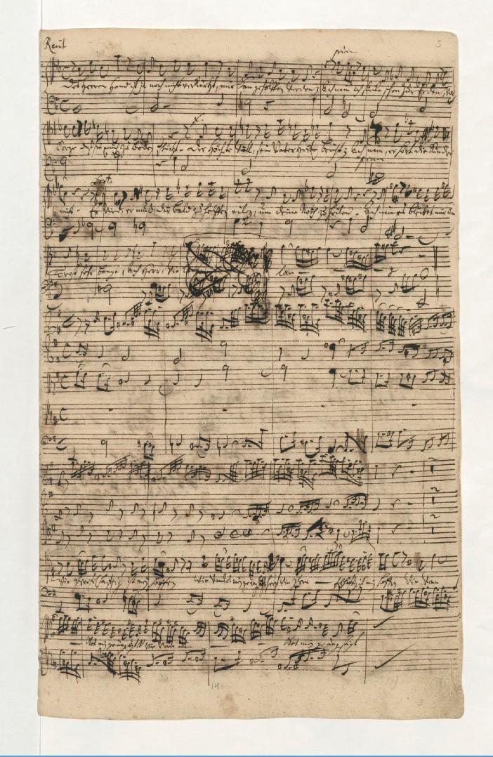BWV 109. №2. Recitativo