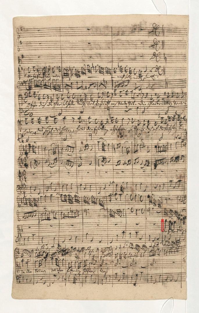 BWV 109. №5. Aria A