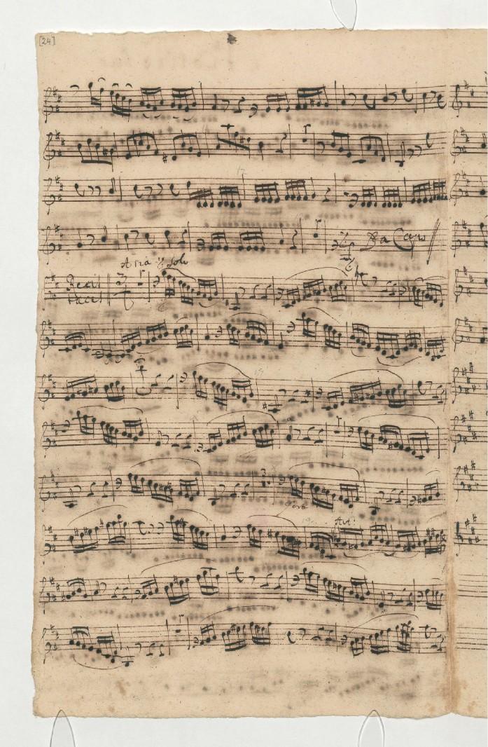 BWV 109. Violin I