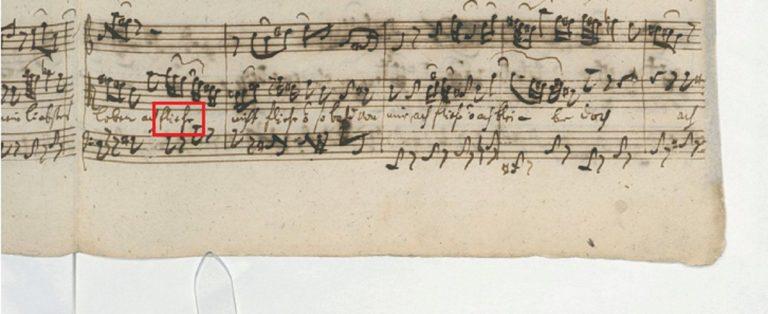 BWV 11. №4. Aria (2)
