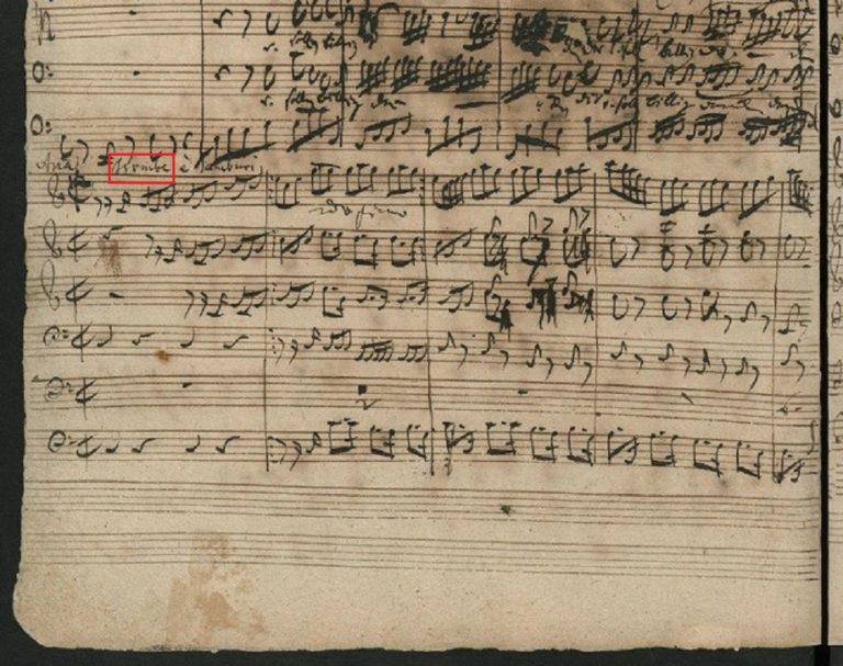 BWV 130. Aria A (page 1)
