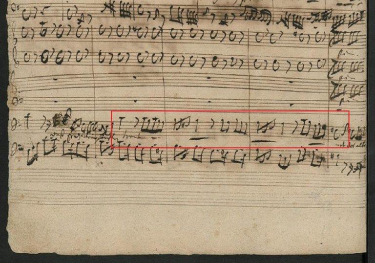 BWV 130. Aria A (page 5)