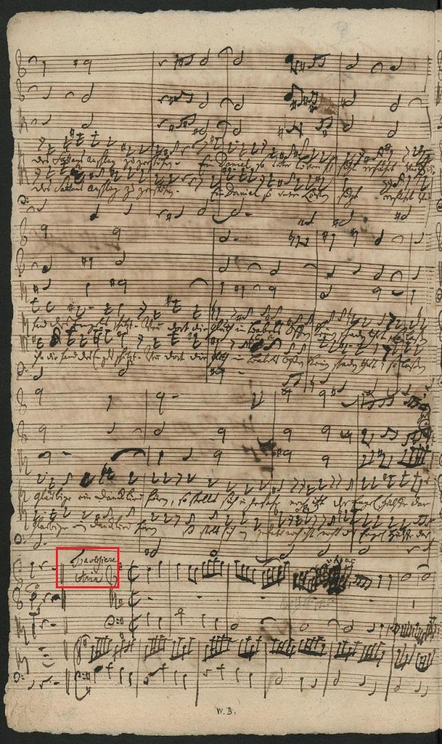 BWV 130. Aria T