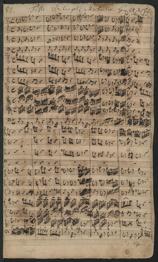 BWV 130. Chorus (page 1)