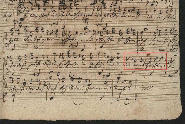 BWV 130. Recit[ativo]
