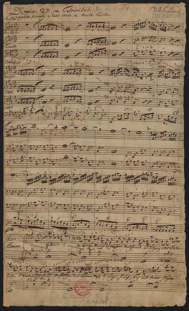 BWV 140. No 1. Chorus