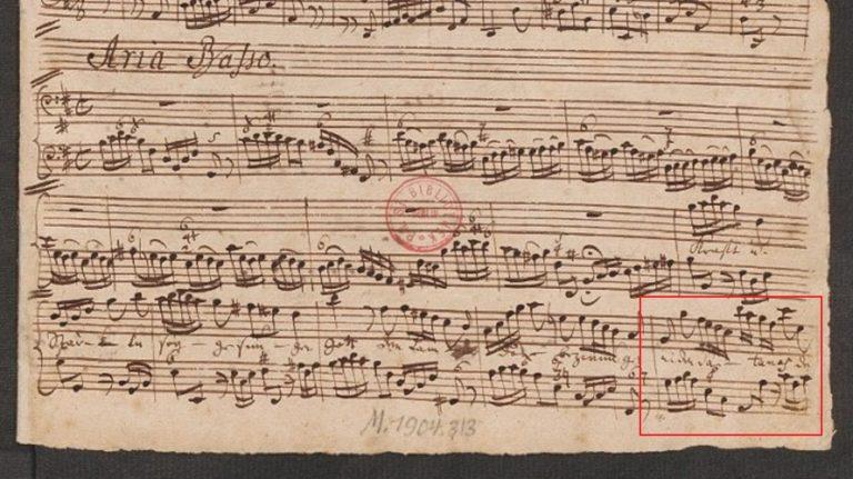 BWV 149. Aria B