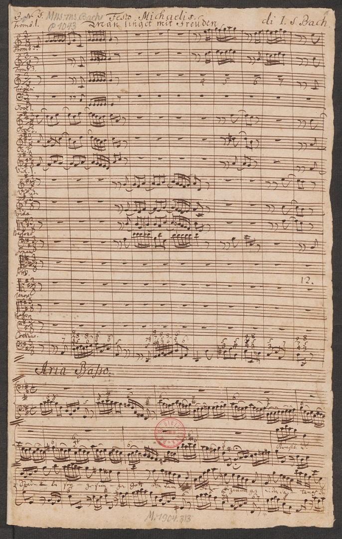 BWV 149. Chorus