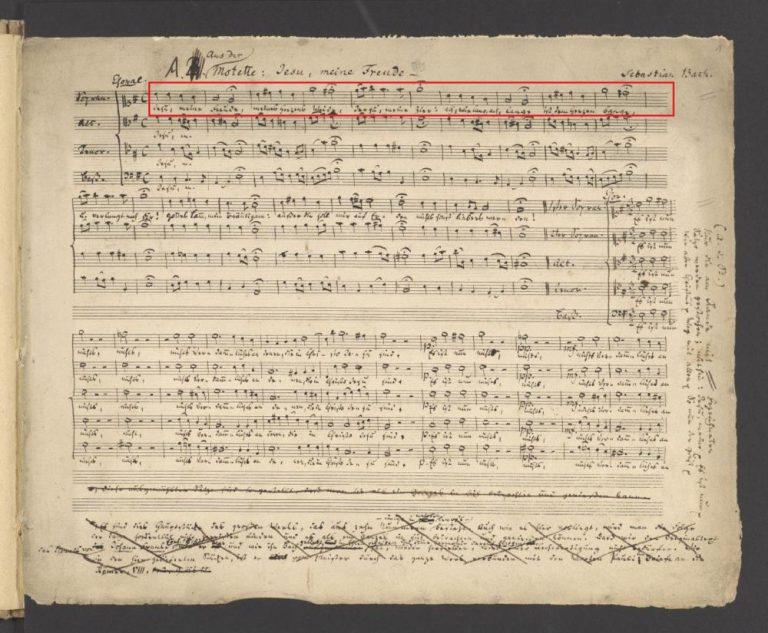 BWV 227, 1. Choral