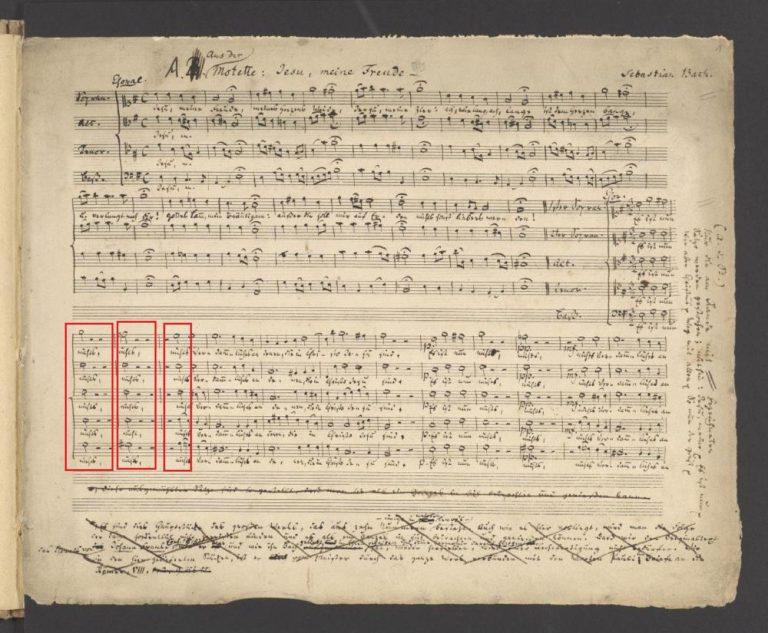 BWV 227,2. Chor