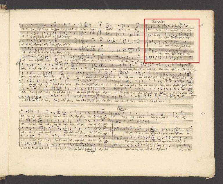 BWV 227,6. Adagio