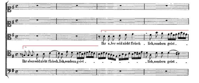 BWV 227,6. T I