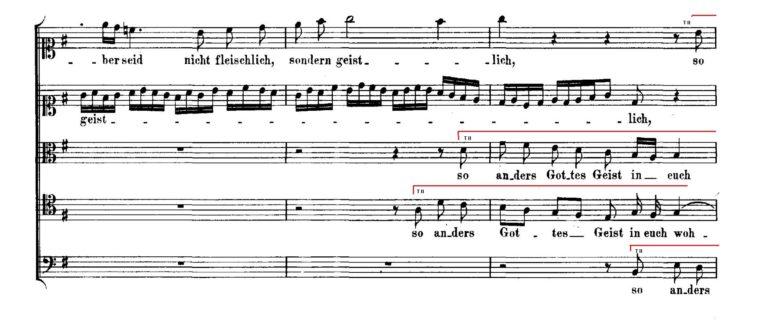 BWV 227,6. T II