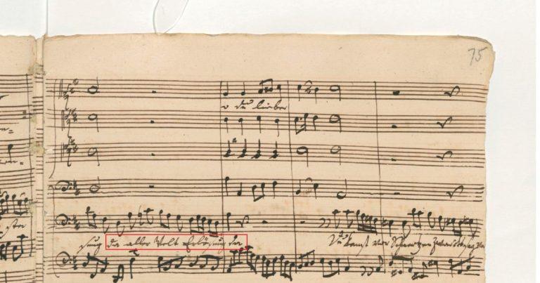 BWV 245. №32. Aria Mein teurer Heiland, lass dich fragen