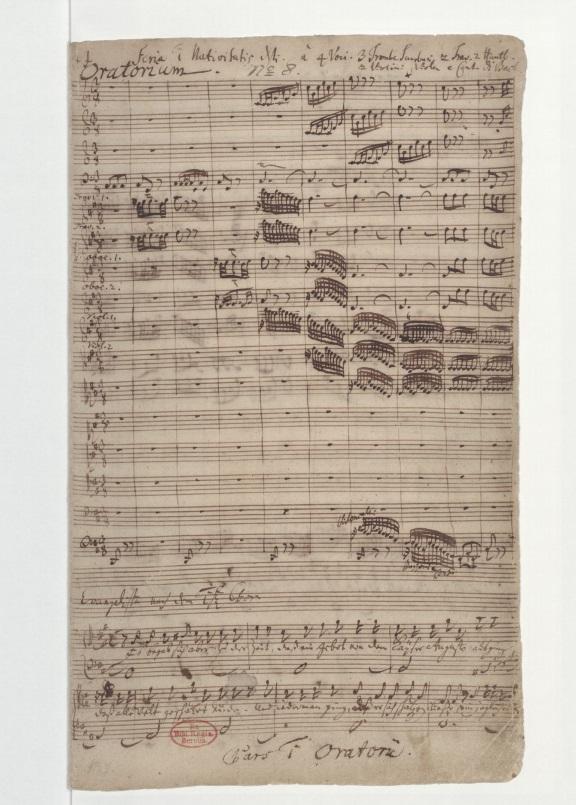BWV 248/1. No 1. Coro