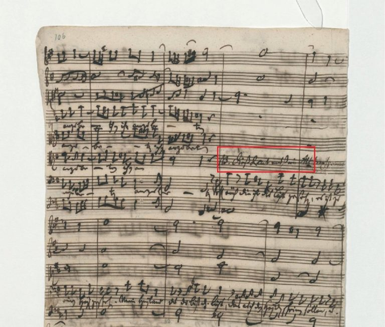 BWV 248. Part V №45. Chorus [e Recit A]
