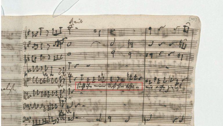 BWV 248. Part V №45. Chorus (p2)