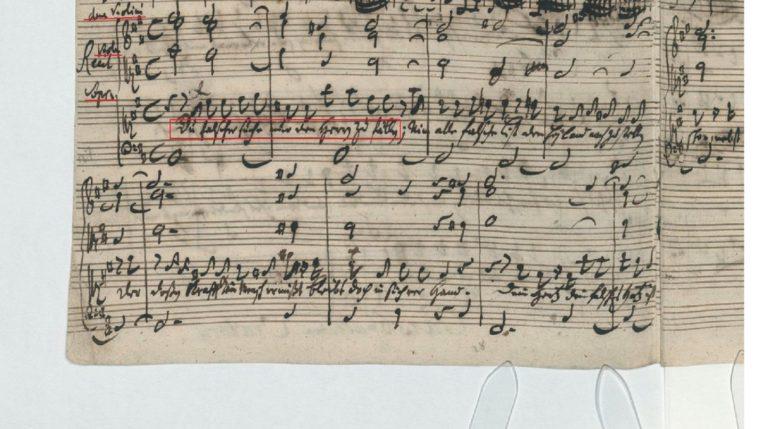 BWV 248. Part VI №56. Recitative