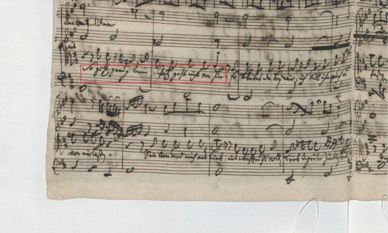BWV 248. Part VI №61. Recitative T
