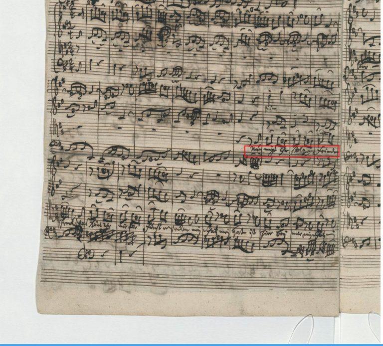 BWV 248. Part VI №62. Aria T
