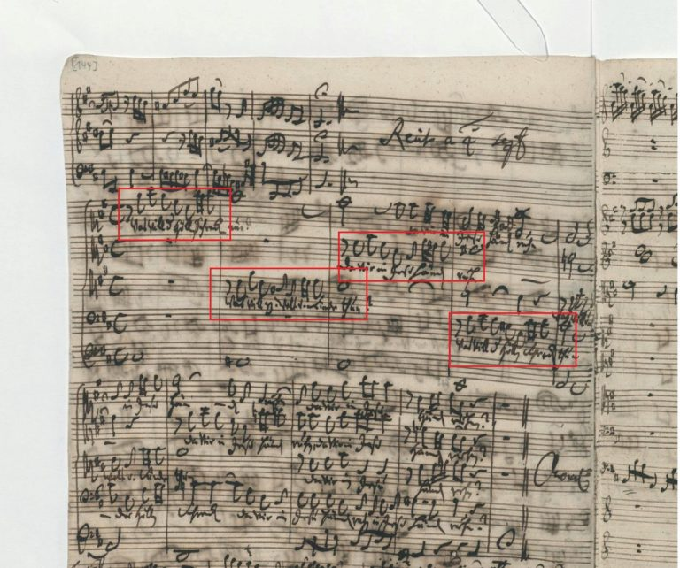 BWV 248. Part VI №63. Recitative a 4 (2)