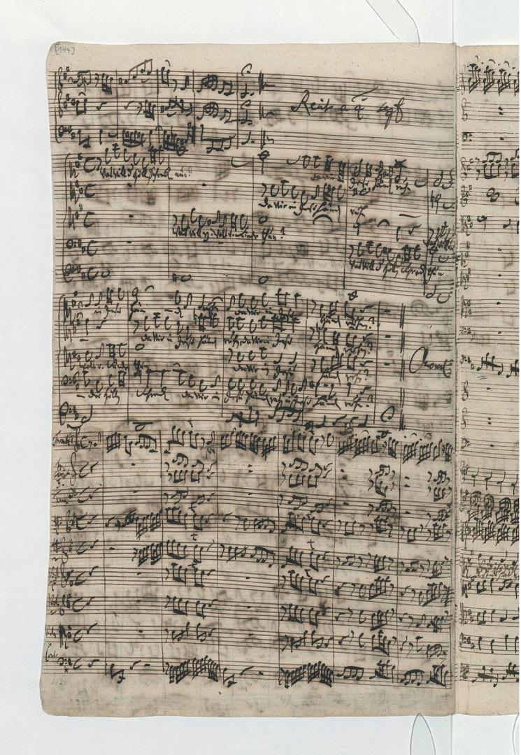 BWV 248. Part VI №63. Recitative a 4