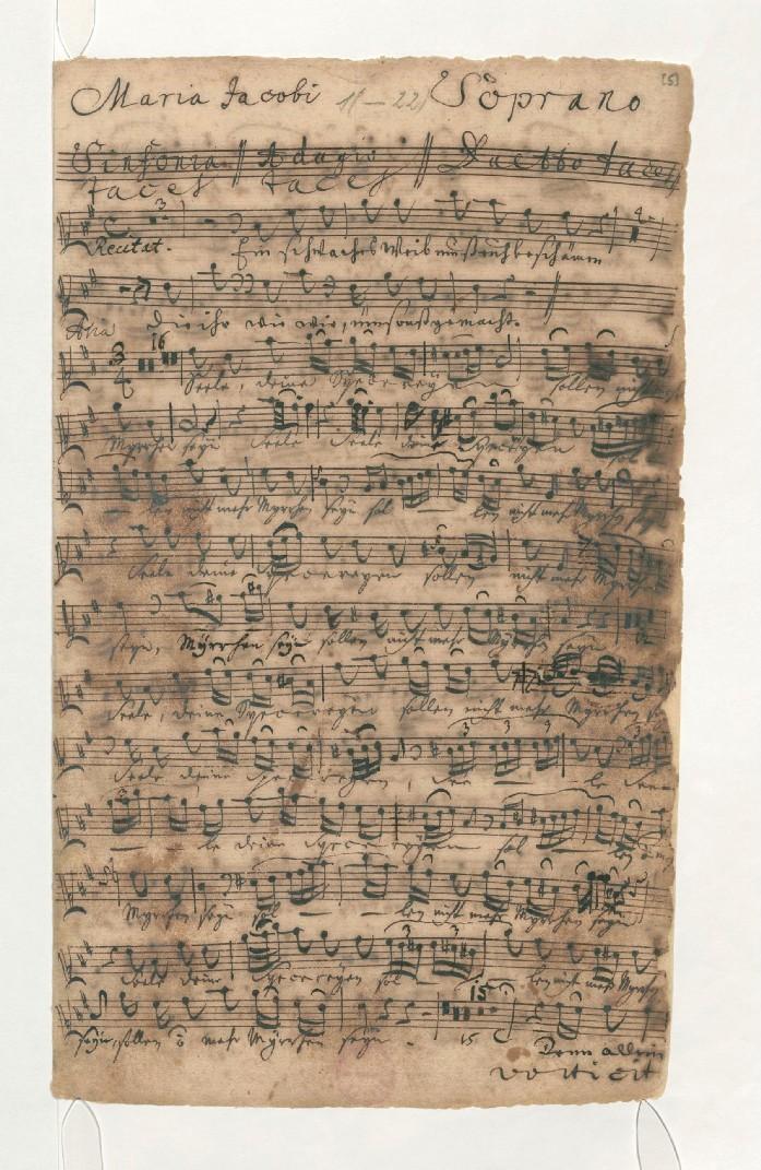 BWV 249 №43 партия сопрано 1