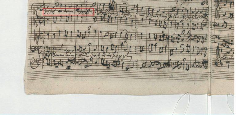 BWV 249. Part VI №59. Choral