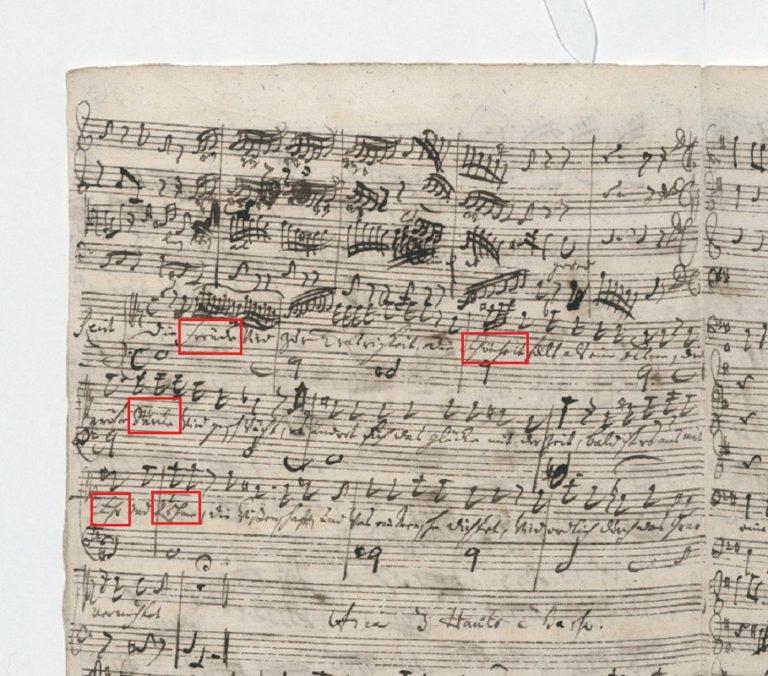 BWV 26. №3 Recit[ativo] A