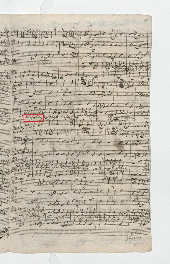 BWV 26. №4 Aria В (page 2)