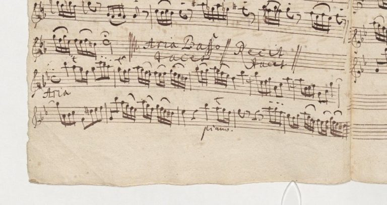 BWV 46. Flauto I (page 2)
