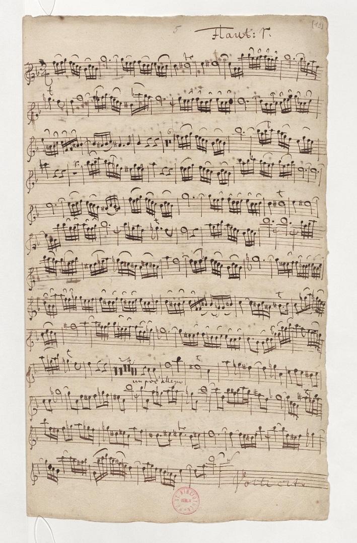 BWV 46. Flute I
