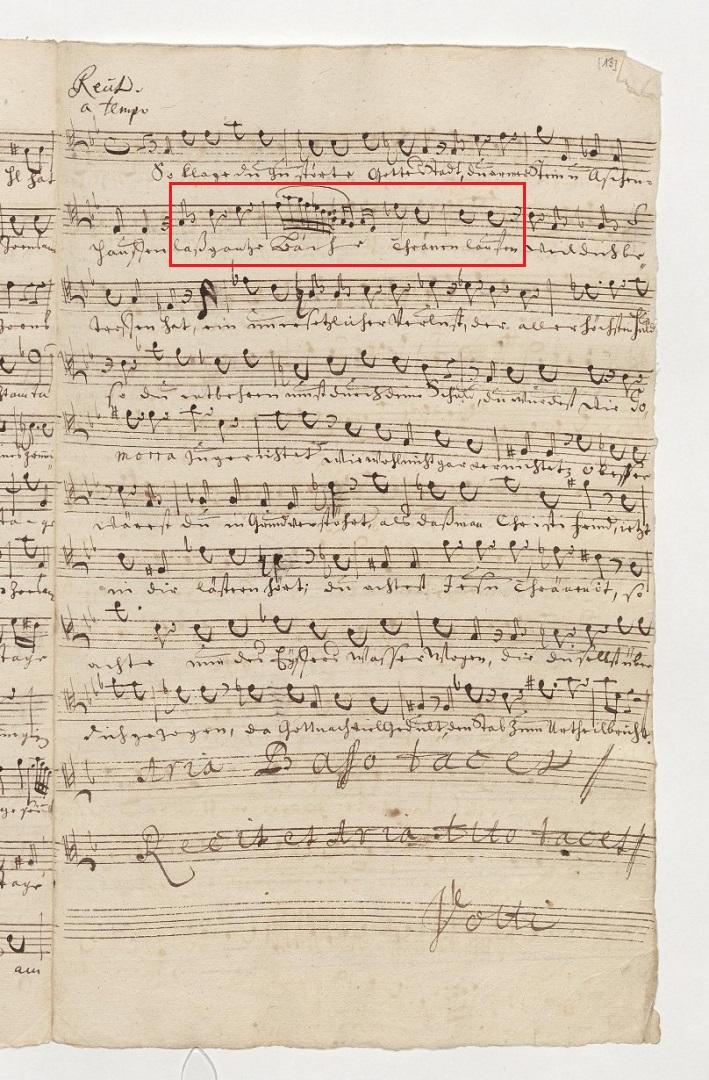BWV 46. Tenor (page 3)