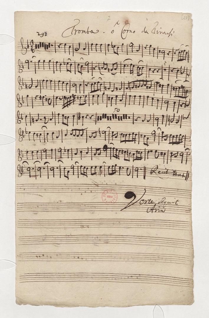 BWV 46. Tromba (Corno da tirarsi)