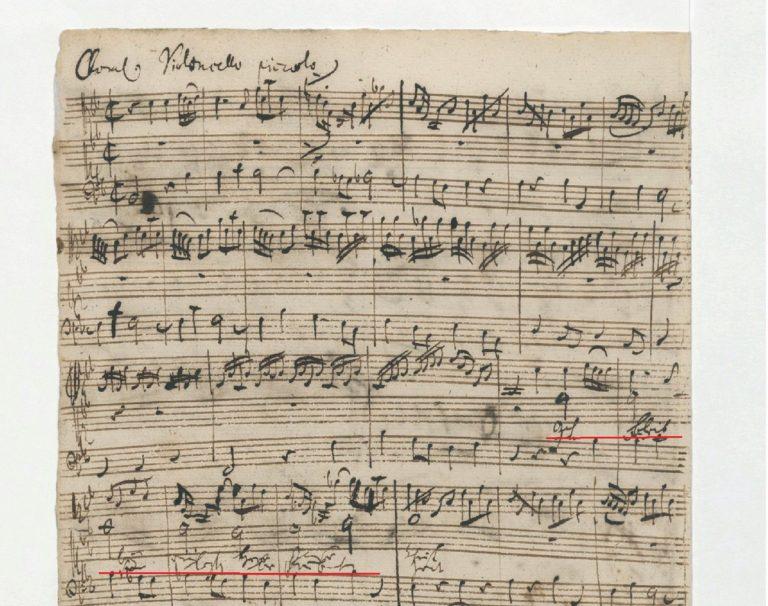 BWV 6. №3. Сhoral