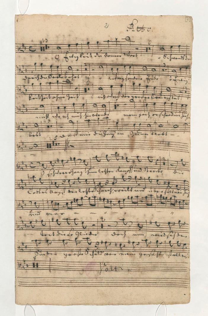 BWV 60. Alto