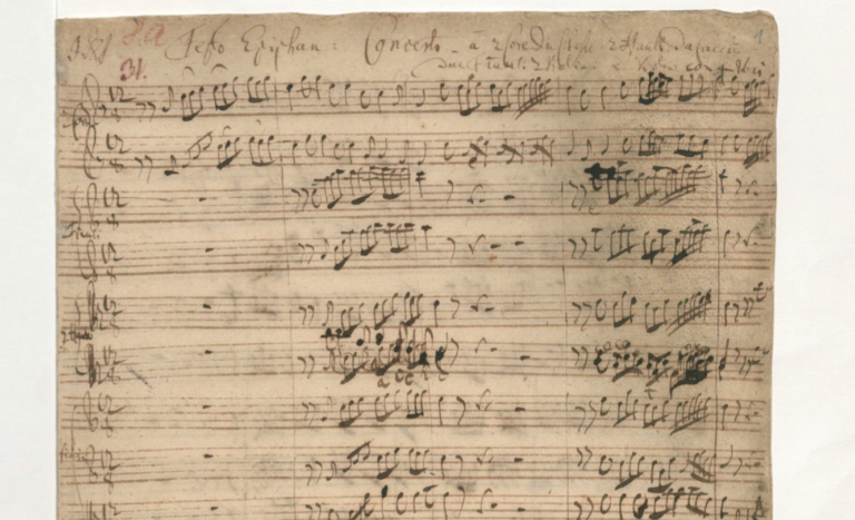 BWV 65. Coro 1