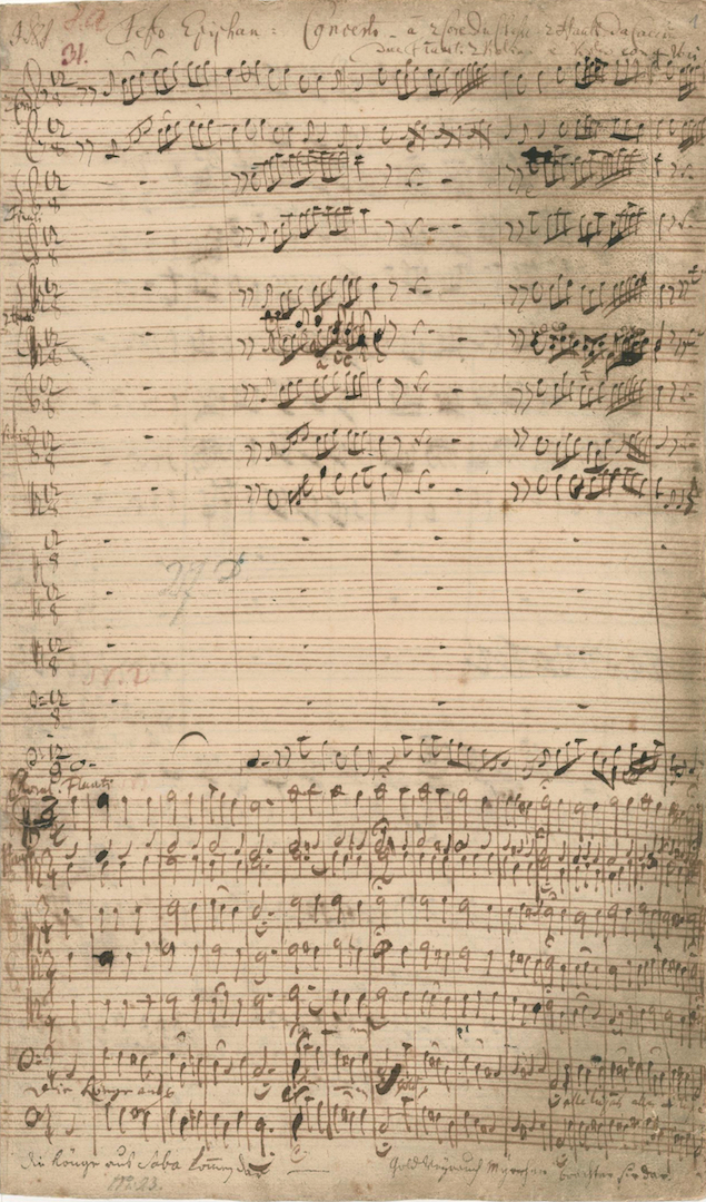 BWV 65. No 1. Chorus