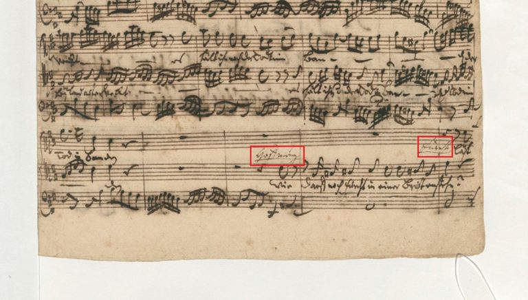 BWV 66. №4. Recit[ativo а 2]
