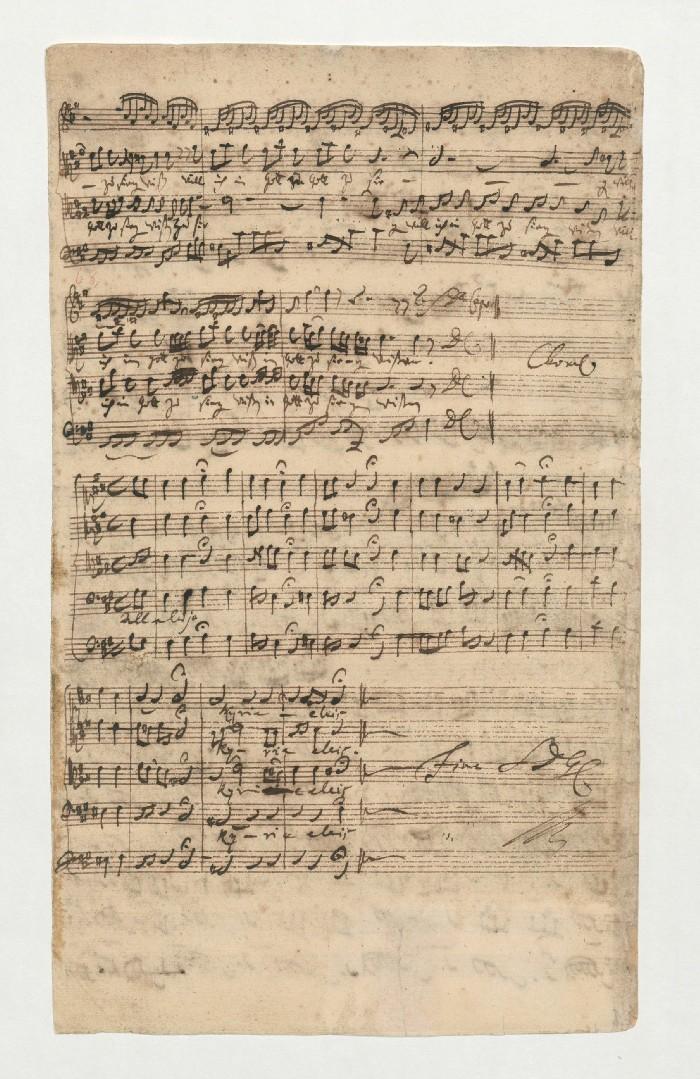BWV 66. №6. Choral