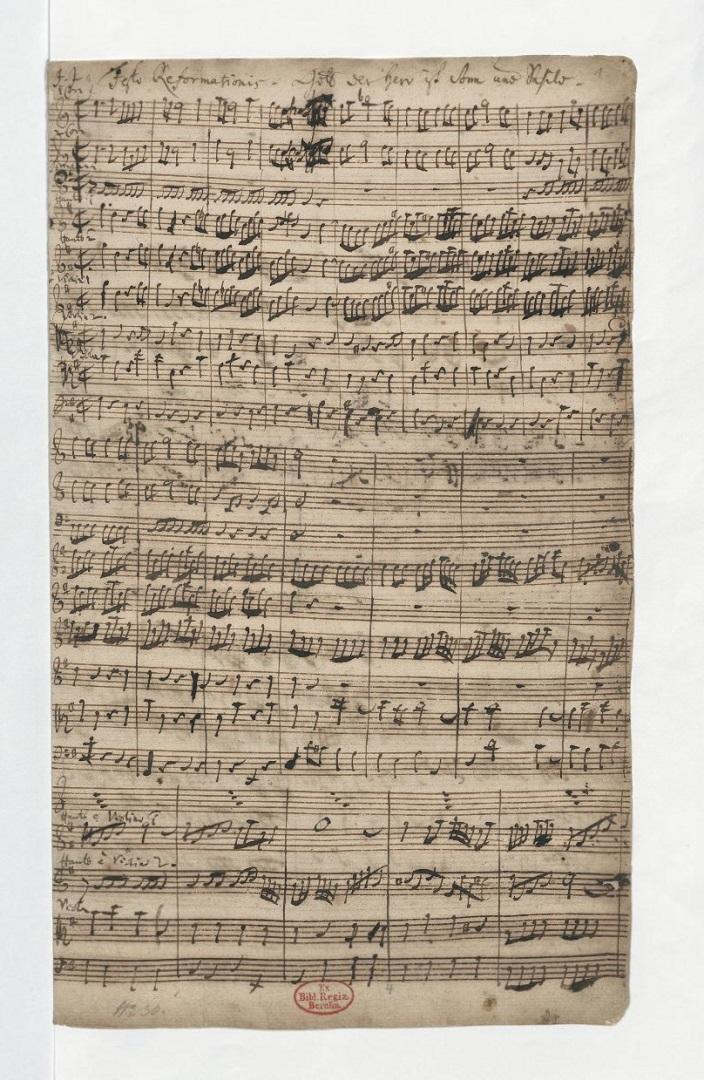 BWV 79. Chorus (page 1)
