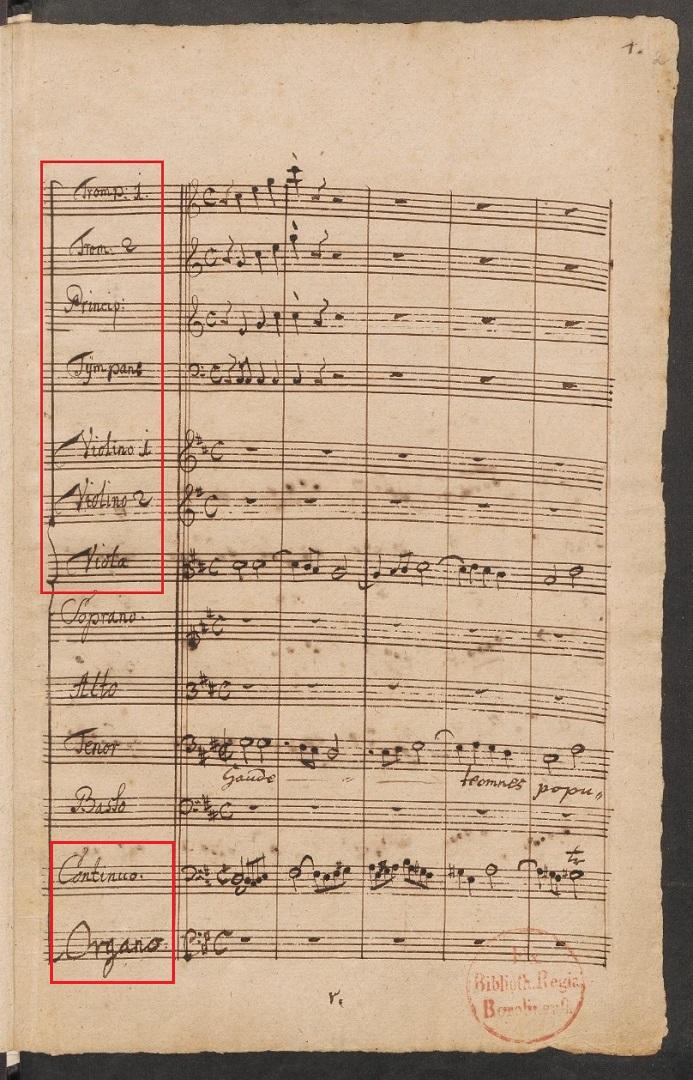 BWV 80 №1. Coro (page 1)