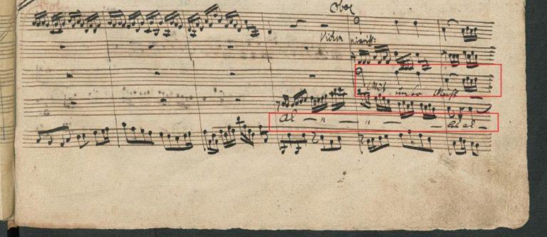 BWV 80 №2. Aria B e Choral S (page 2)