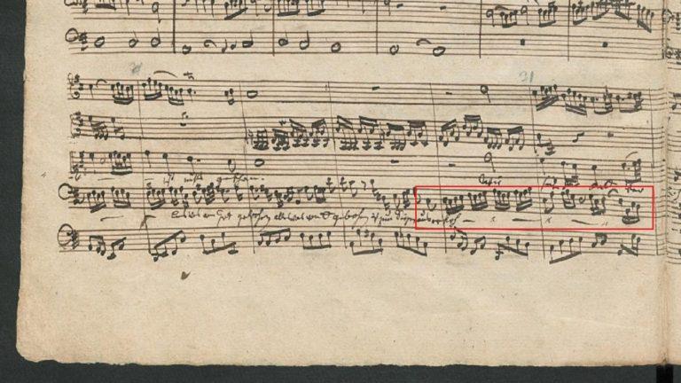 BWV 80 №2. Aria B e Choral S (page 3)