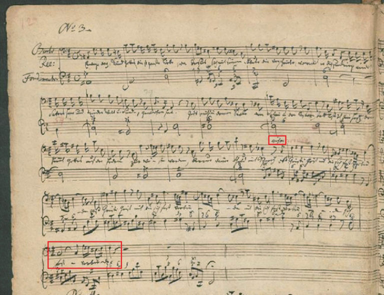 BWV 80 №3. Recitativo