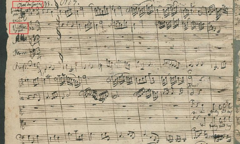 BWV 80 №7. Aria (Duetto) A T (page 1)