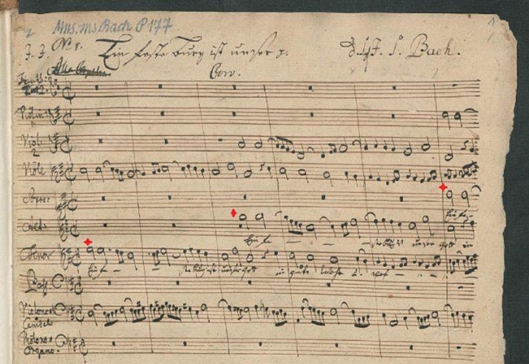 BWV 80. Coro (page 2)