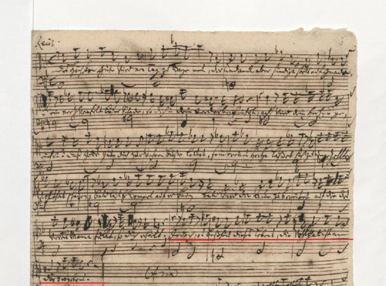 BWV 90. №2 Recit[ativo]